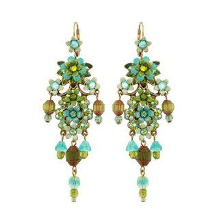 Michal Negrin Beautiful Chandelier Earrings Made With