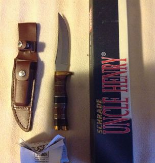 Schrade Uncle Henry Knife 153UHMW