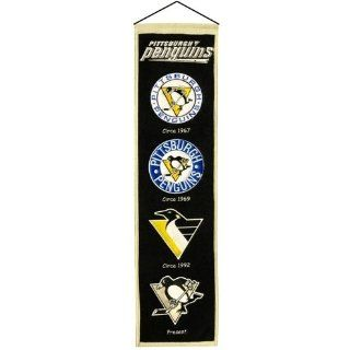 Pittsburgh Penguins NHL Heritage Wool Banner Sports