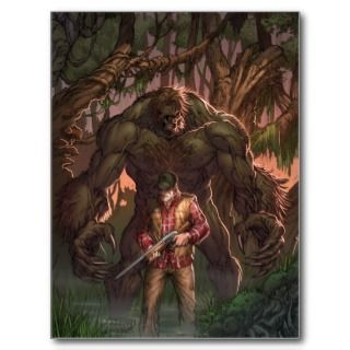 Monster Hunters Survival Guide #2A   Sasquatch Postcards