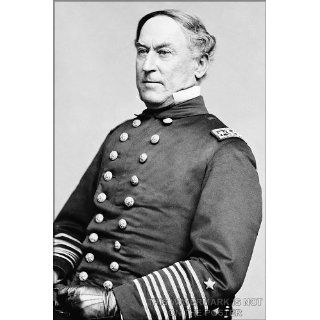 Admiral David Farragut   24x36 Poster Everything Else