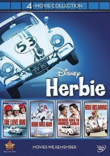 Herbie The Love Bug 4 Movie Collection New 4 DVD All 4 Original Films
