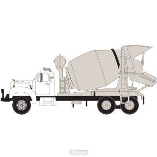 N RTR Mack B Cement Truck, White ATH12156 Toys & Games