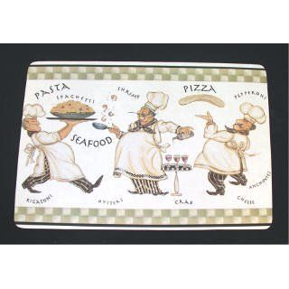 FAT Italian French Chef Cushioned anti fatigue Comfort Mat