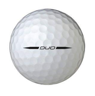 Wilson Staff Duo Golf Balls, Pack of 12 Sports