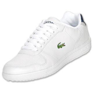 Lacoste Jenson Mens Athletic Shoes White/Dark Blue