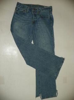 Hollister California Hermosa Low Rise Boot Jeans Sz 30x32 Button Fly
