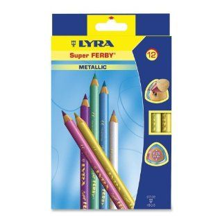 Dixon Super Ferby Metallic Colored Pencil   Lead Size 6