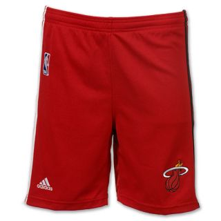 adidas Miami Heat Pre Game NBA Youth Short Red