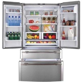 Haier Energy Star Refrigerator French Door Counter Depth