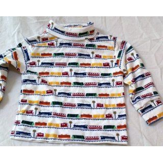 Baby Boy Infant 18 Months, 100% Cotton Train Design Turtle