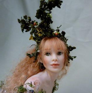 Stunning OOAK Hiddleston Doll Original sculpture Adult Forest Fairy