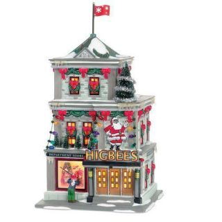Department 56 Christmas Story Higbees Department Store