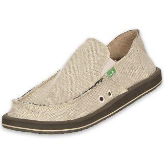 Sanuk Mens Hemp Sidewalk Sandal Natural