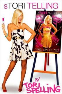 Telling by Tori Spelling and Hilary Liftin 2009 Paperback Book