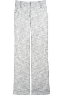 Adam Wide leg tweed pants   88% Off