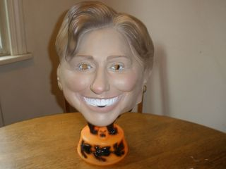 Halloween Hillary Clinton Latex Rubber Mask Adult Full Head 2006 Scary