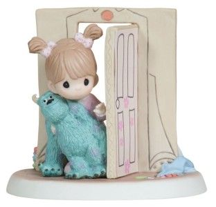 Precious Moments Disney Sully Everything Is Less Scary with A Friend