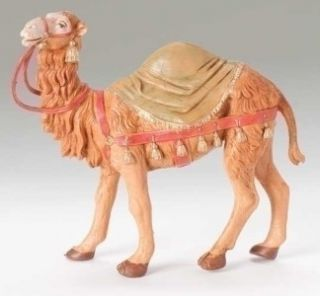 Fontanini Nativity Camel with Saddle Blanket 72526 Scale for 5