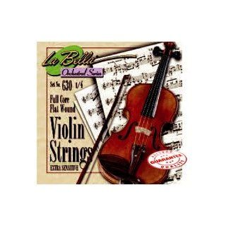 LA BELLA HANDMADE VIOLIN STRING SET 4/4: Musical