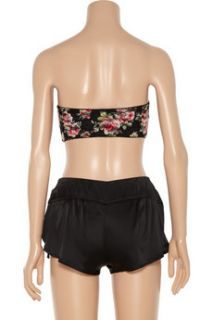 Top Secret Brief Affair silk satin shorts