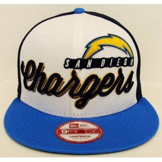 San Diego Chargers Retro New Era Chriograph Snapback Cap