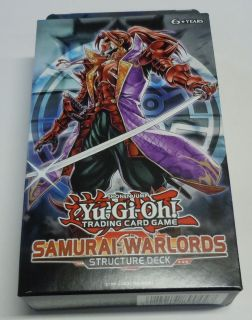 Warlords 1st Edition Structure Deck New Trading Card Game