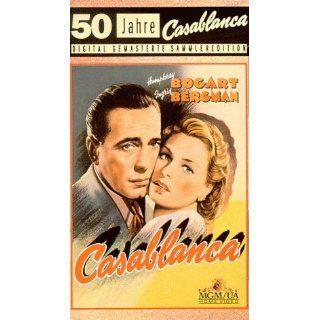 Casablanca [VHS] Humphrey Bogart, Ingrid Bergman, Paul