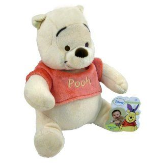 Disney Winnie the Pooh Super soft Plush Baby Rattle Doll