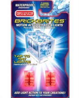 BrickBrites 60010020 Motion Activated Brick Lights Red/White
