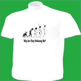 Shirt Evolution Line Humor Unique Original Funny Joke Science Big
