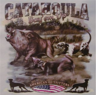 All American Outfitters Wild Boar Hunting CATAHOULA BayEm Up Shirt