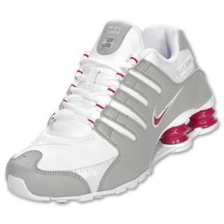 Womens Nike Shox NZ White/Voltage Cherry