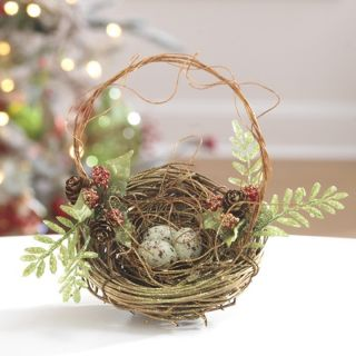 Nest Christmas Ornament Set of 2 RAZ Imports