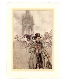 Kensington Garden Fairies Peter Pan 1910 Arthur Rackham