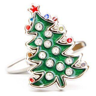 Winter Holiday Christmas tree Ornaments Cufflinks Cuff