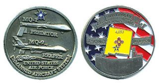 Holloman Air Force Base MQ 1 MQ 9 Challenge Coin