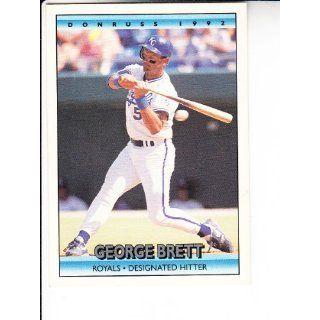 1992 Donruss #143 George Brett Baseball