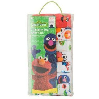 Sesame Street Elmo Set of 7 Toddler Boys Briefs Clothing
