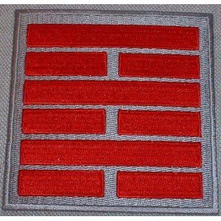G.I.JOE Snake Eyes Ninja Clan Red & Silver Logo PATCH