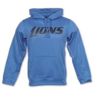 New Nike Detroit Lions Blue Washed Cotton Classic Hooded Sweatshirt  hot sale