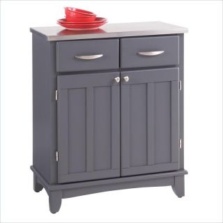 Home Styles Buffet of Buffets Stainless Steel Top Small Buffet Server