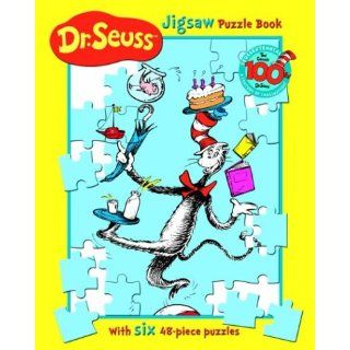 Dr. Seuss Jigsaw Puzzle Book With Six 48 Piece Puzzles