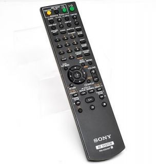 Sony RM ADU007 DVD Home Theater System Remote Control