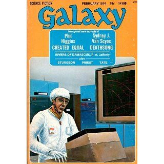 Galaxy Magazine, Vol. 34, No. 5 (February, 1974) R. A. Lafferty
