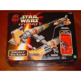 Star Wars Episode I TPM Sebulbas Pod Racer with Exclusive