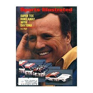 A.J. Foyt Autographed February 28, 1972 Daytona Race Way