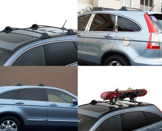07 11 Honda CRV Aluminum Factory Style Roof Rack Cross Rail Bar Pair