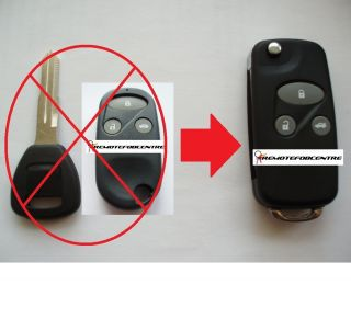 Case Upgrade for Honda Accord Civic HRV CRV S2000 Remote Key