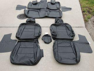 Honda Insight Leather Seat Covers Interior Seats 2011 2012